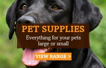 Full Range Of Pet Supply Products Now In stock