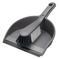 See more information about the Addis Dustpan & Brush Stiff Metallic