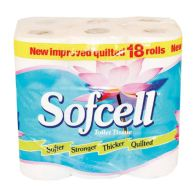 See more information about the Sofcell Toilet Rolls (Pack of 18)