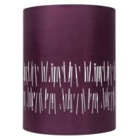 See more information about the Cylinder Pendant Lamp Shade - Plum