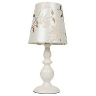 See more information about the Floral Table Lamp - Cream