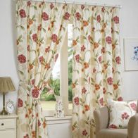 "See more information about the Fusion Bouquet Curtains (45"" Width x 54"" Drop) - Pink"