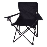 See more information about the Adult Folding Camping Chair Black