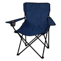 See more information about the Adult Folding Camping Chair Dark Blue