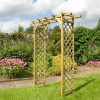 See more information about the Sunset Outdoor Timber Arch