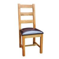 See more information about the Cotswold Oak Horizontal Slat Dining Chair
