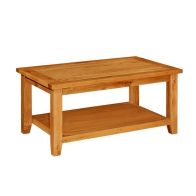 See more information about the Holkham Oak Coffee Table - Mini Cotswold