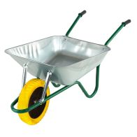 See more information about the Galvanised Builders Barrow Puncture Proof (85 Litre)