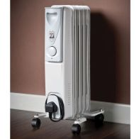 See more information about the Daewoo 1000 Watt Oil Filled Radiator With Thermostat Control