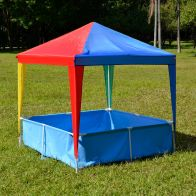 See more information about the Kids 1.46 x 1.46m Gazebo With Pool