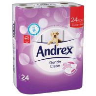 See more information about the Andrex Puppies 24 Toilet Roll