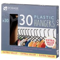 See more information about the Plastic Hangers 30 Pack