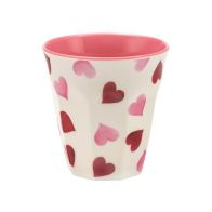 See more information about the Emma Bridgewater Pink Hearts Melamine Beaker