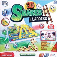 See more information about the 3D Snakes & Ladders Board Game