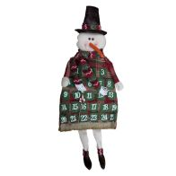 See more information about the Snowman Christmas Calendar 67cm