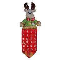 See more information about the 72cm Christmas Advent Calendar - Reindeer Design