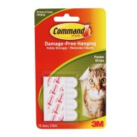 See more information about the 3M Command Damage-Free Hanging Poster Strips
