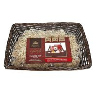 See more information about the Create Your Own Gift Hamper Kit Small Dark Wicker - Small