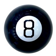 See more information about the Magic Black 8 Ball