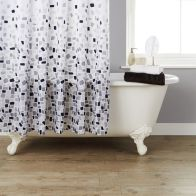 See more information about the Shower Curtain Grey Mosaic