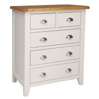 See more information about the Elsing Pine 5 Drawer Chest (2 + 3)