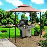 See more information about the Croft 1.55 x 2.45m Luxury Outdoor Garden BBQ Shelter