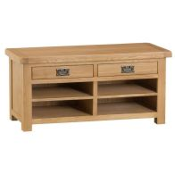 See more information about the Cotswold Oak Home Hall Bench Furniture