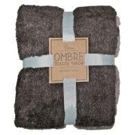 See more information about the Your Home Toastie 130x170 Fleece Ombre Brown Throw