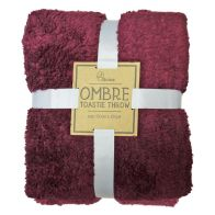 See more information about the Your Home Toastie 130x170cm Fleece Ombre Purple Throw