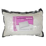See more information about the Comfortable Options Memory Foam Diamond Quilted Pillow