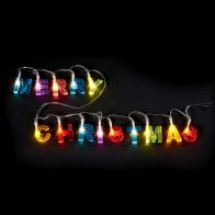 See more information about the 14 Light Merry Christmas Glitter Warm White