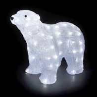 See more information about the Acrylic Polar Bear 80 Light White LED