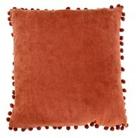 See more information about the Red Pom Pom Cushion 45 x 45cm