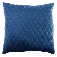 See more information about the Blue Dim Out Embroided Velvet Style Cushion 45 x 45cm