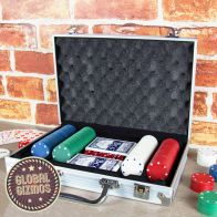 See more information about the Global Gizmos 200 Piece Poker Set In Aluminium Case
