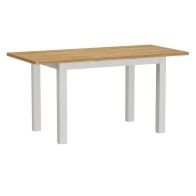 See more information about the Jasmine White 1.2m Extending Dining Table