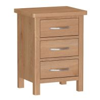 See more information about the Sienna 3 Drawer Bedside Drawers