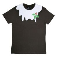 See more information about the Mens Pudding Christmas T-Shirt Small