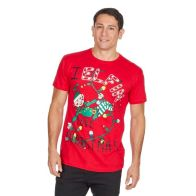 See more information about the Mens Elfin Christmas T-Shirt Small