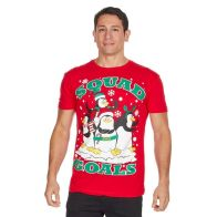See more information about the Mens Squad Christmas T-Shirt Small