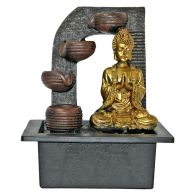 See more information about the 10inch Buddha Indoor Water Fountain With LED Light