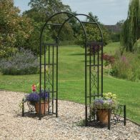 See more information about the Huntingdon Arch with Planters