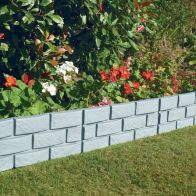 See more information about the Brick Effect Garden Border Grey 4 Pack