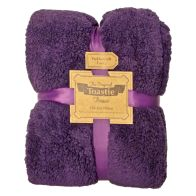 See more information about the Original Toastie 130 x 180cm Purple Throw