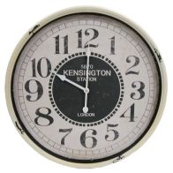 See more information about the Railway Iron Wall Clock 51cm Diameter