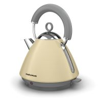 See more information about the Morphy Richards 1.5 Litre Accents Pyramid Kettle 3KW - Cream