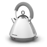See more information about the Morphy Richards 1.5 Litre Accents Pyramid Kettle 3KW - White