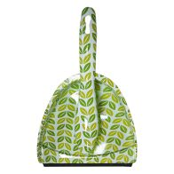 See more information about the Printed Dustpan and Brush Set - Green Leaves