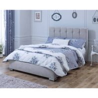 See more information about the Lansfield Canterbury Classic Silver 6ft Super King Size Bed Frame