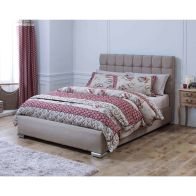 See more information about the Lansfield Gatsby Classic Brown 6ft Super King Size Bed Frame